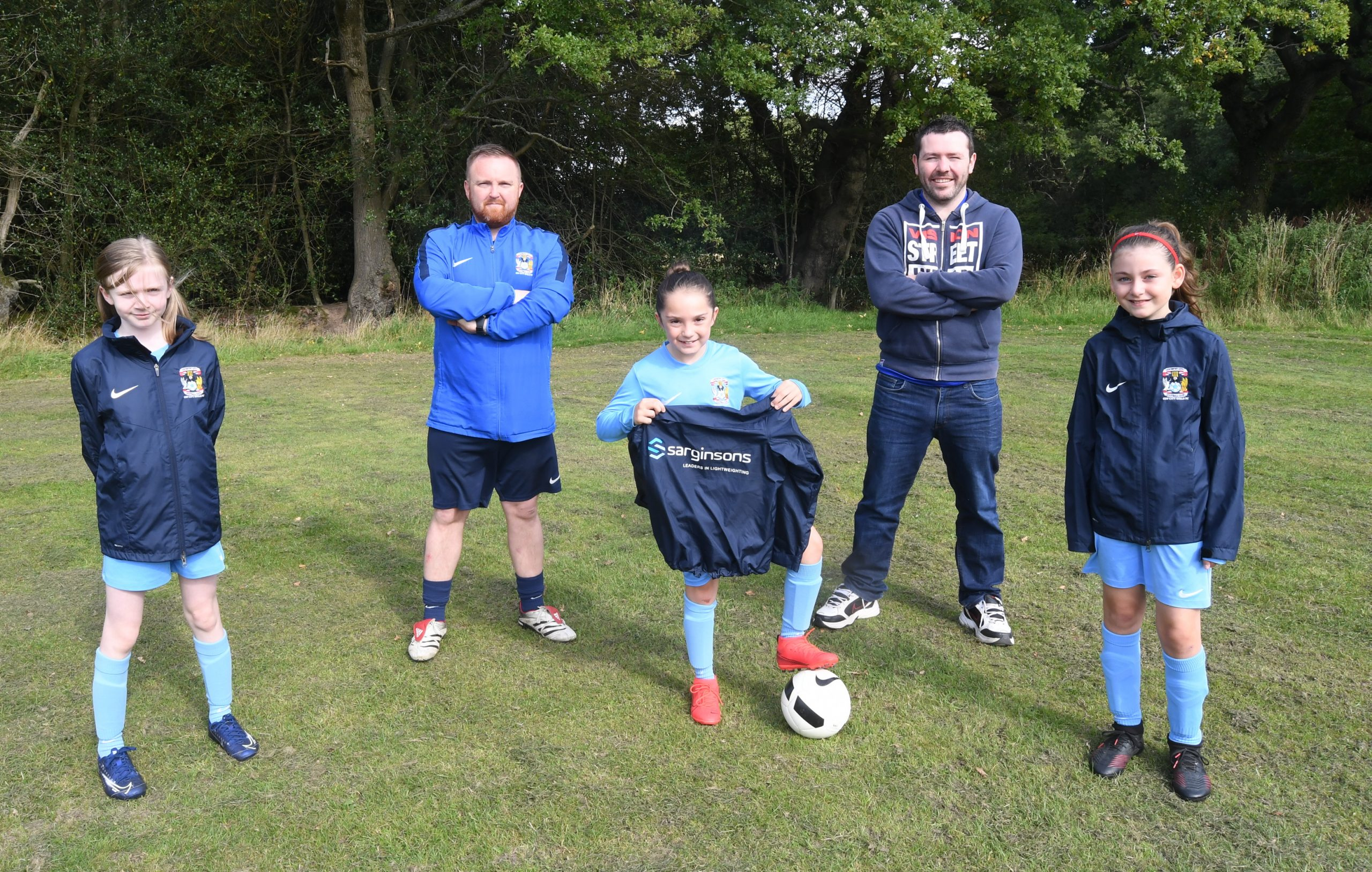 Sarginsons backs local football team!